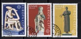 Grèce - Griechenland - Greece 1974 Y&T N°1144 à 1146 - Michel N°1166 à 1168 (o) - EUROPA - Used Stamps