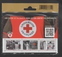 """FRANCE / 2019 / Y&T N° 5350/5352 ** Ou F5350 ** (Feuillet """"Croix-Rouge : Solidarité Contre Précarités) X 1 - Ss Blister - Ungebraucht"""