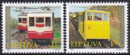 LITAUEN 2004 Mi-Nr. 859/60 ** MNH - Lituanie