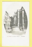 * Antwerpen - Anvers - Antwerp * (L. D. L., 973, XVI Série) La Pompe De Quinten Matsys, Puits, Waterput, Café, Old - Antwerpen