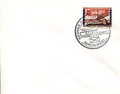 14158146 Belgium 19580727 Bx Expo58; Journée Nationale Du Personnel Des Postes; Pli - 1958 – Brussels (Belgium)
