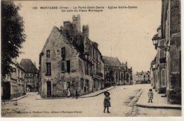 Mortagne Au Perche Porte St Denis Eglise Notre Dame - Mortagne Au Perche