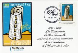 Université D'Aix Marseille - 600e Anniversaire - Personnalisés (MonTimbraMoi)