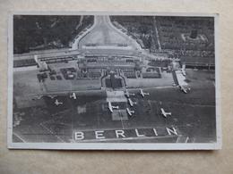 AEROPORT / AIRPORT / FLUGHAFEN     BERLIN  TEMPELHOF  1936 - Aeródromos