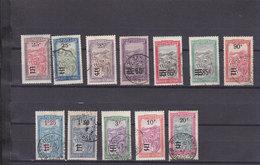 MADAGASCAR 144/155 OBL - Oblitérés
