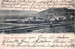 Luxembourg  - Gruss Aus Lorentzweiler - Panorama - Postcards