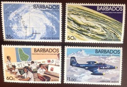 Barbados 1981 Hurricane Season Aviation Aircraft MNH - Barbados (1966-...)