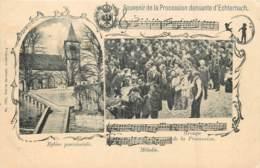 Luxembourg - Echternach - Souvenir De La Procession Dansante - Edit. Ch. Bernhoeft 1160 - Echternach