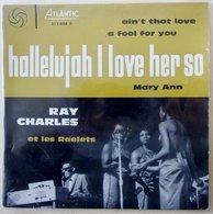 Ray Charles Et Les Raelets: Hallelujah I Love Her So Vinyle EP 45 (1961) - Blues