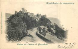 Luxembourg - Ruines Du Château De Bourscheid - N° 24 Ch. Bernhoeft - Bourscheid