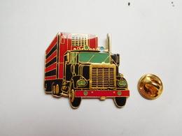 Beau Big Pin's , Transport Camion , Trucks , Carburant Shell - Transportes
