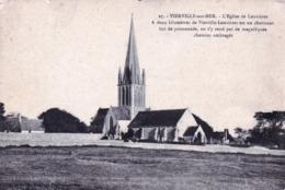 14 - Calvados - VIERVILLE Sur MER - L Eglise De Louvieres - Autres Communes