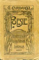 L 158 - G. CARDUCCI - POESIE - 1912 - Livres, BD, Revues