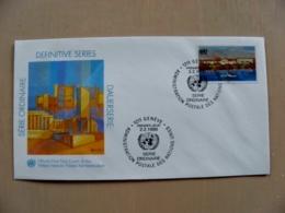 Fdc Cover UN United Nations Geneve Switzerland 1990 - Genf - Büro Der Vereinten Nationen