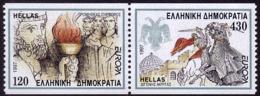 Grèce - Europa CEPT 1997 - Yvert Nr. 1930/1931 - Michel Nr. 1946/1947 C ** - 1997