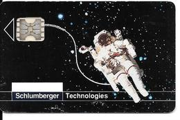 SCHLUMBERGER Technologies (au Dos Inscrit Carte Factice) - Unclassified