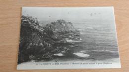 CPA - 32. LA POINTE DU RAZ - Bateaux De Pêche Ralliant Le Port D'Audierne - La Pointe Du Raz