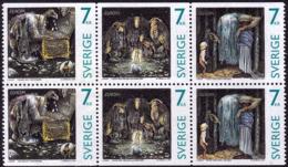 Suède - Europa CEPT 1997 - Yvert Nr. 1983/1985 ND  En Haut Et En  Bas - Michel Nr. 2001/2003 Du /Do ** - 1997