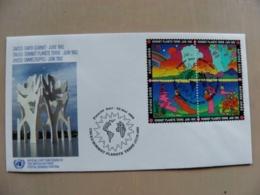 Fdc Cover UN United Nations Geneve Switzerland 1992 Unced Earth Summit - Genf - Büro Der Vereinten Nationen