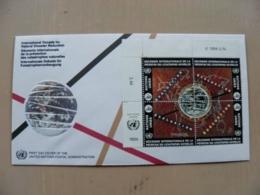 Fdc Cover UN United Nations Geneve Switzerland 1994 Natural Disaster Reduction - Genf - Büro Der Vereinten Nationen