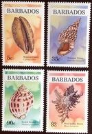 Barbados 1997 Shells MNH - Coneshells