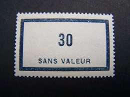 FICTIFS NEUF ** N°F 99 SANS CHARNIERE (FICTIF F99) - Phantom
