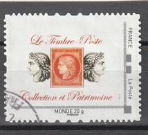Montimbramoi : Oblitéré.Collection Et Patrimoine. Monde 20g. - Personalisiert (MonTimbraMoi)