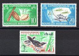 NLE HEBRIDES - YT N° 273 à 275 - Neufs ** - MNH - Cote: 14,50 € - French Legend
