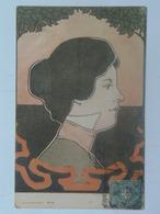 Henri Meunier 3 Style Mucha Kirchner Art Deco Art Nouveau Jugendstil 1901 Ed E.Arenz - Illustrateurs & Photographes