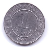 NICARAGUA 2007: 1 Cordoba, KM 101 - Nicaragua