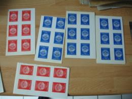 Erinnophilie Lot Vignette Timbre  Philexfrance 1982 Couleur Orange Et Bleu - Commemorative Labels
