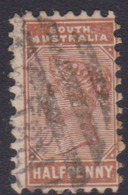Australia South Australia SG 183 Half Penny Venetian Red,used - 1855-1912 South Australia