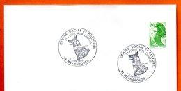 13 MEYRAGUES   2° FOIRE AUX CHIENS  1986 Lettre Entière N° KL 117 - Gedenkstempels