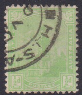 Australia South Australia SG 262 1898 Half Penny Yellow Green,used - 1855-1912 South Australia