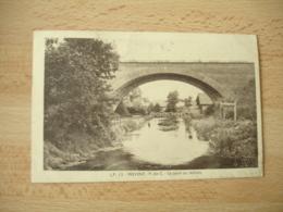 Cpa 62 Frevent Pont Du Marais - France