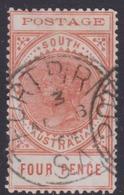 Australia South Australia SG 269 1902 Four Pence  Red Orange,Used - 1855-1912 South Australia