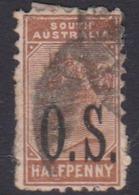 Australia South Australia SG O55 1894 Half Penny Brown  O.S.,used - 1855-1912 South Australia