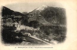 BRIANCON - VUE PRISE DE LA ROUTE DE GRENOBLE - Briancon