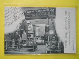 Le Mans , Exposition 1911,Stand Ernest BOLLEE,dédicacée Par BOLLEE - Le Mans