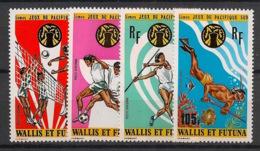 Wallis Et Futuna - 1975 - PA N°Yv. 63 à 66 - Jeux Du Pacifique Sud - Neuf Luxe ** / MNH / Postfrisch - Ungebraucht