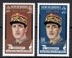 NLE HEBRIDES - YT N° 306-307 - Neufs ** - MNH - Cote: 7,50 € - Ungebraucht
