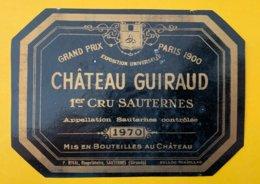 13930 -  Château Guiraud 1970 Sauternes - Bordeaux