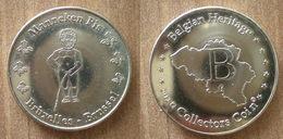 Belgique Medaille Manneken Pis Bruxelles Brussel 2012 Belgian Belgium Heritage Collectors Coin Paypal Bitcoin OK - Touristiques
