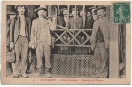 71 LE CREUSOT  Usine Schneider - Descente Des Mineurs - Le Creusot