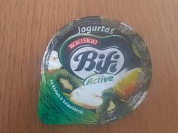Lithuania Litauen Yogurt Top 2020 - Milk Tops (Milk Lids)