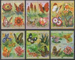 Burundi - 580/603 - Papillons & Fleurs - 1973 - MNH - Burundi