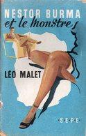Nestor Burma Et Le Monstre Par Léo Malet - Collection : Le Labyrinthe N°42 - S.E.P.E.