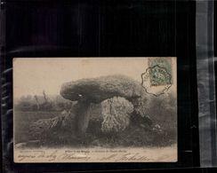 CARTE POSTALE VILLIERS Au BOUIN -- Dolmen De Haute Pierre En L'état Sur Les Photos - Otros Municipios