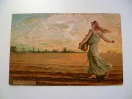 CPA / Carte Postale Ancienne / La SEMEUSE D'après Roty 1904 - Schilderijen