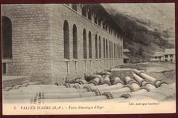 Vallée D' Aure - Usine électrique D' Eget   * Hautes-Pyrénées  65170 * Aragnouet Village éget N° 2 - Autres Communes